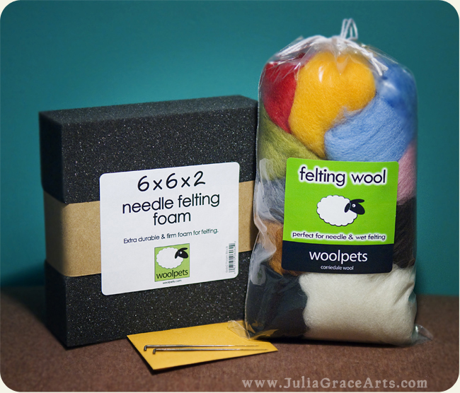 Needle Felting Kit by Wool Pets