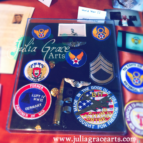 Bullet and Patches from WWII Veteran