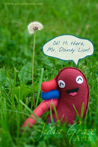 Handmade Felt Human Kidney Plush Toy