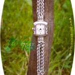 Custom Woven Ring Chainmaille Watch Band