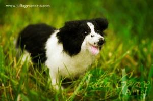 Needle Felted Pet Portrait